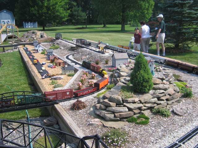 Opinions on garden railroading for Garden railway designs