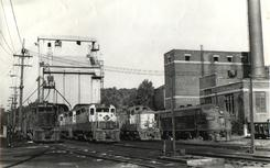 CNJ and Reading engines in Bethlehem PA